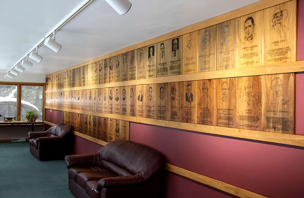 Wisconsin Conservation Hall of Fame gallery.