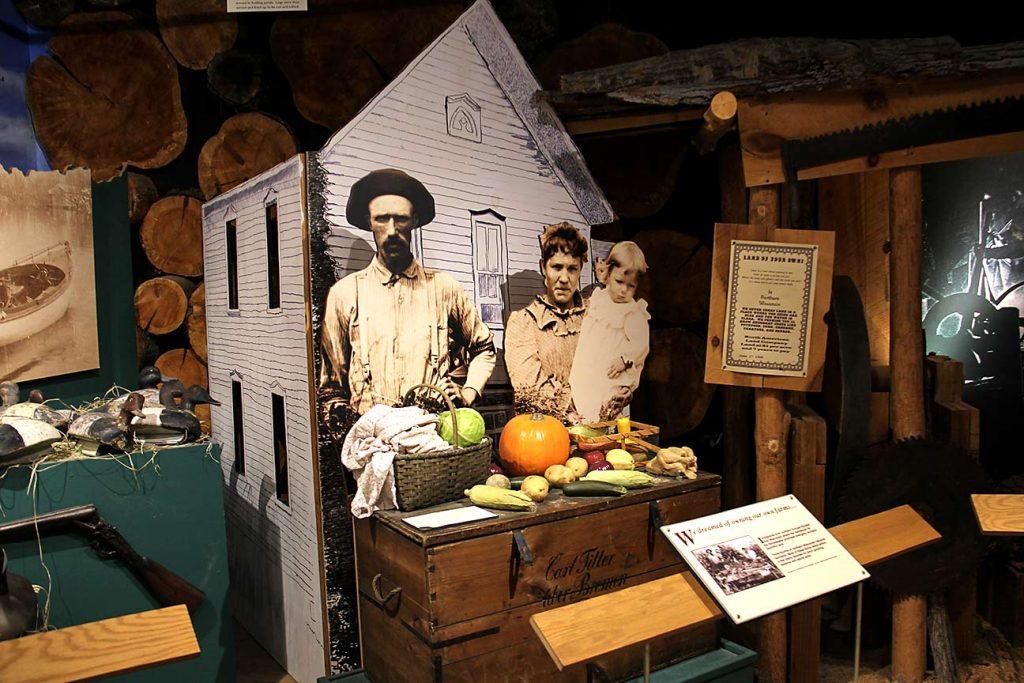Wisconsin settlers.